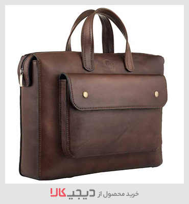 خرید کیف اداری مردانه چرم طبیعی گلیما مدل 236G