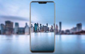 بریدگی صفحه نمایش LG G7