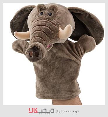 عروسک نمایشی نیکی مدل فیل مهربان