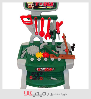 میز ابزارآلات اسباب بازی مدل Tools Play Set