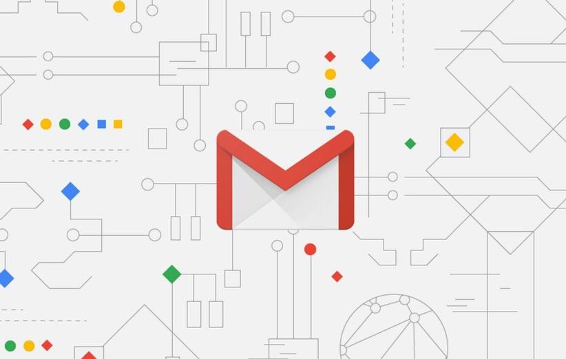 نسخه جدید جی میل