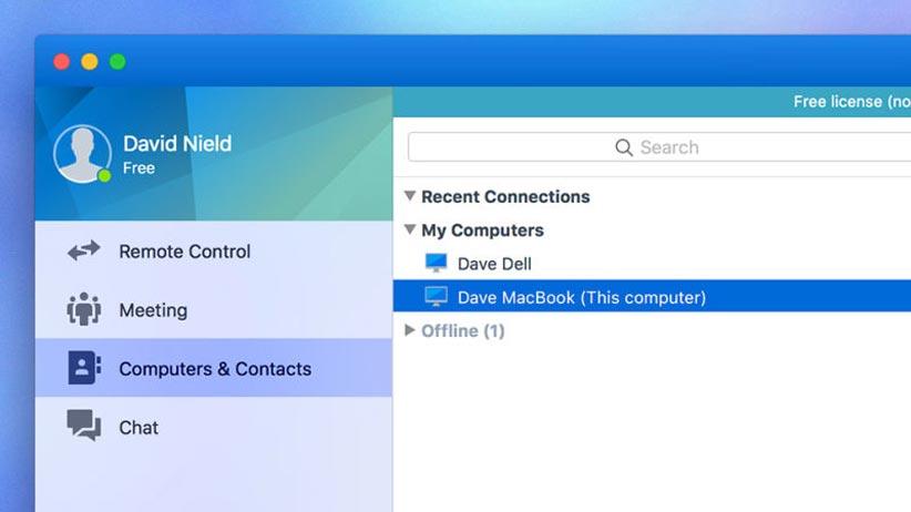 نرم افزار کنترل از راه دور موبایل