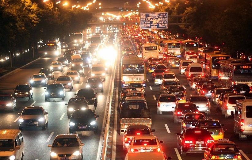 نقشه آلودگی هوای تهران