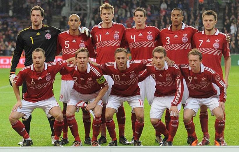 تیم های صعودکننده جام جهانی دانمارک