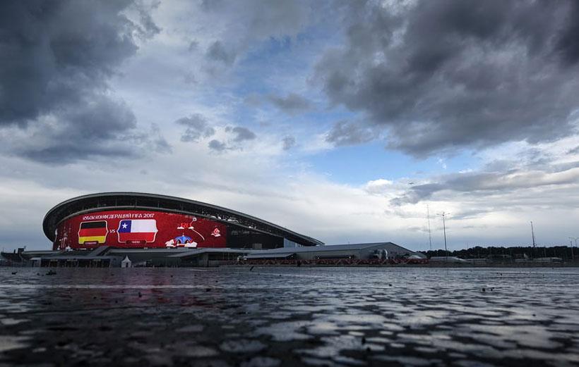 ورزشگاه های جام جهانی روسیه کازان