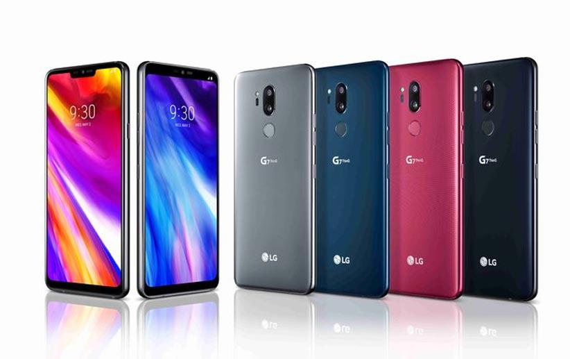 مشخصات موبایل ال جی g7