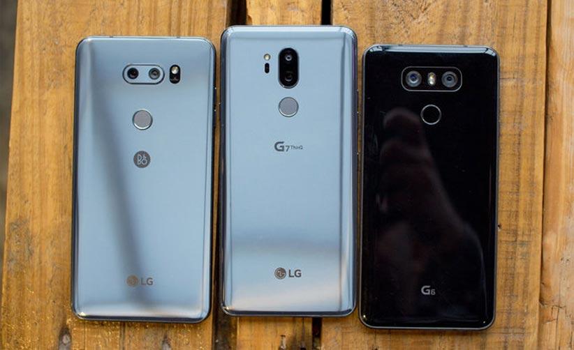 تاریخ عرضه lg g7