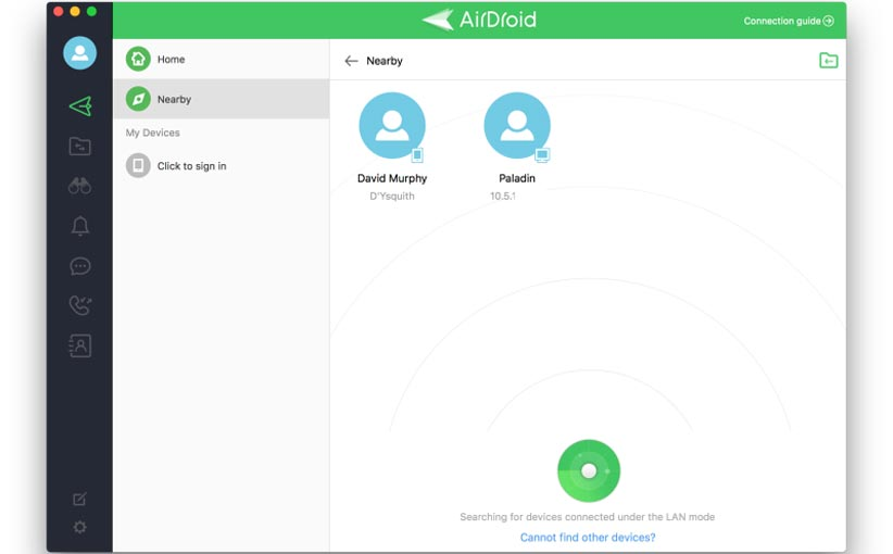 Share Files 5 - ۴ روش برای انتقال فایل بین ویندوز، مک، اندروید و iOS