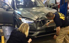 تصادف اتومبیل خودران اوبر