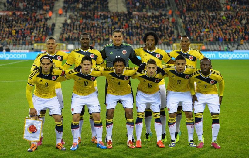 تیم های جام جهانی ۲۰۱۸ کلمبیا