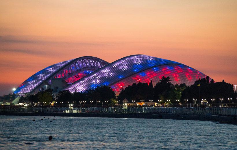ورزشگاه های جام جهانی روسیه فیشت