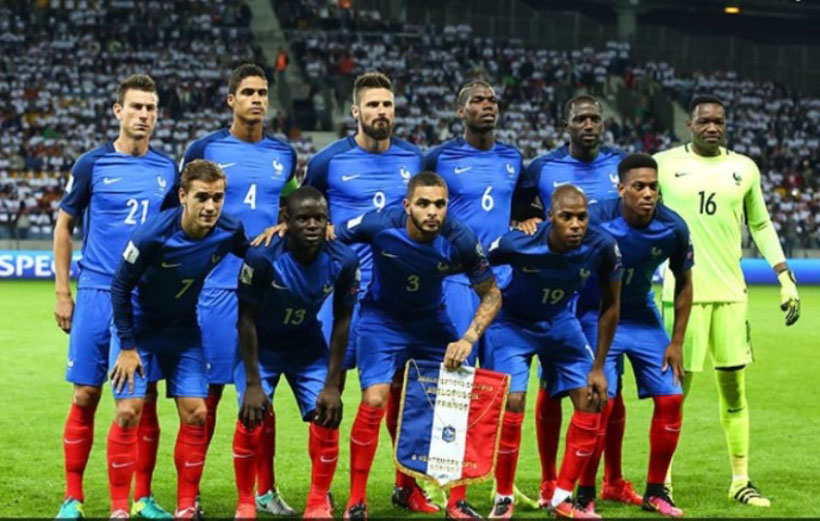 تیم های صعودکننده جام جهانی فرانسه
