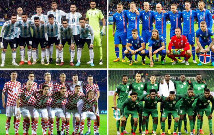 تیم های صعودکننده جام جهانی