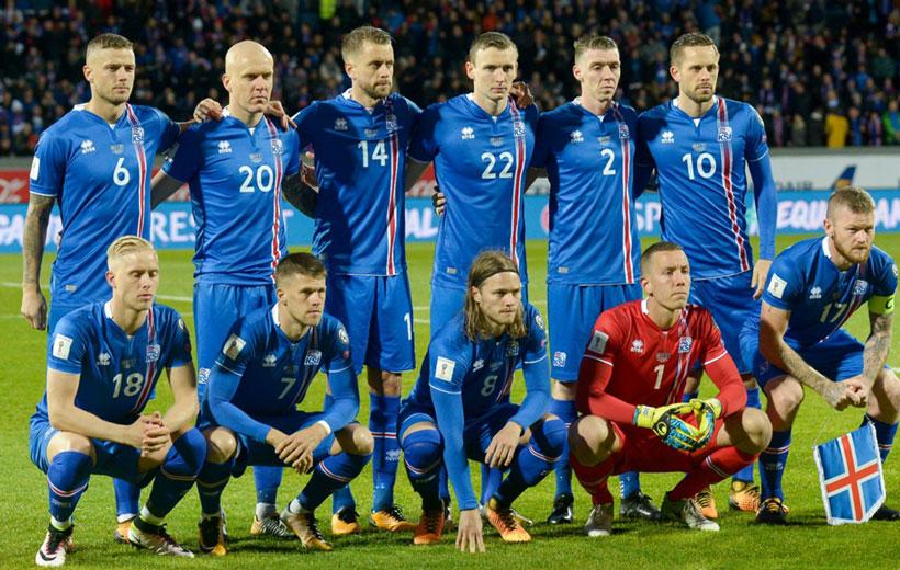 تیم صعودکننده ایسلند