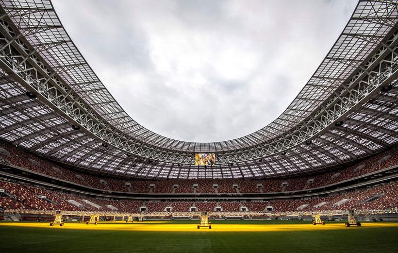 ورزشگاه های جام جهانی روسیه لوژنیکی