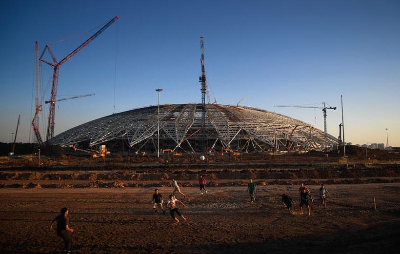 ورزشگاه های جام جهانی روسیه سامارا