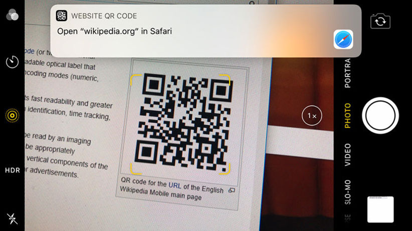 اسکن QR Code