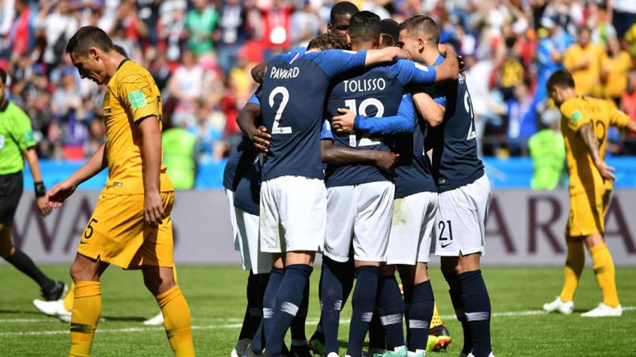 تیم فرانسه در جام جهانی 2018