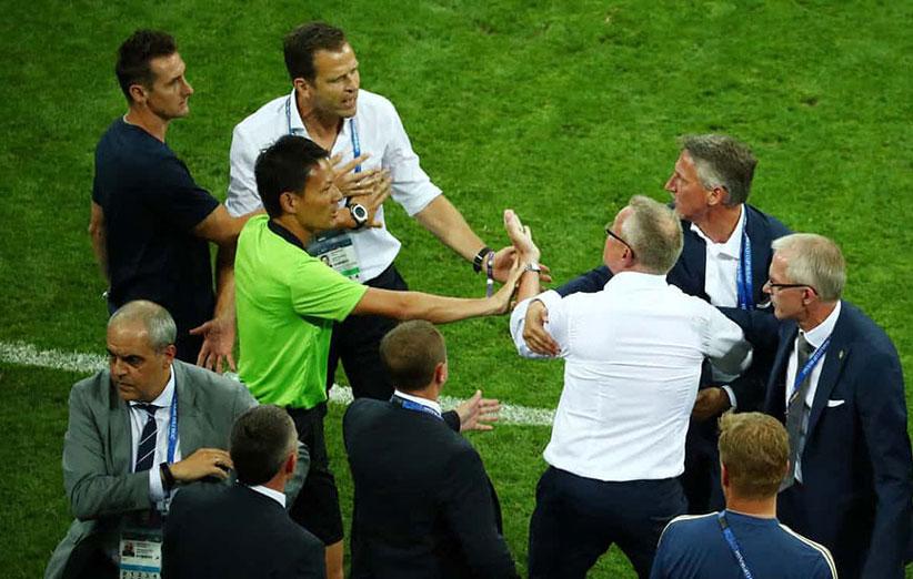 جام جهانی 2018 عذرخواهی فدراسیون آلمان از سوئد
