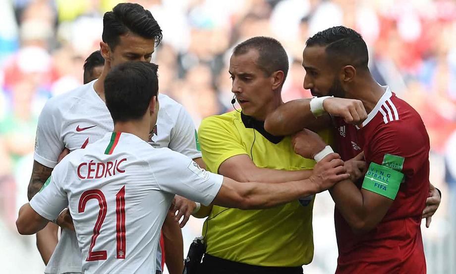 بازی پرتغال و مراکش