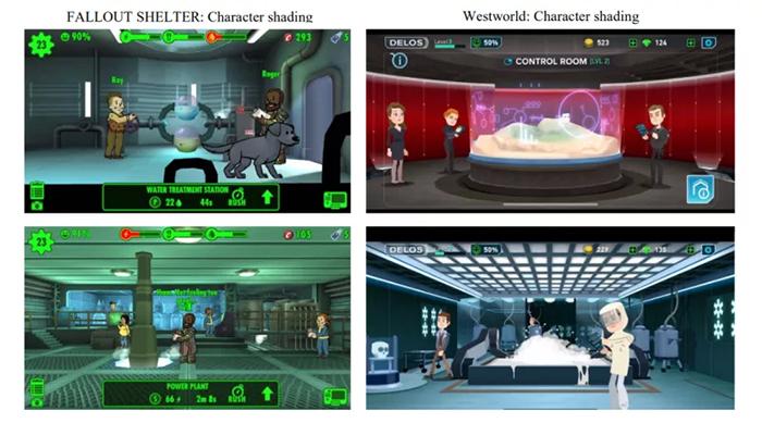 مقایسه Fallout Shelter و Westworld