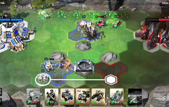 بازی Command & Conquer Rivalss