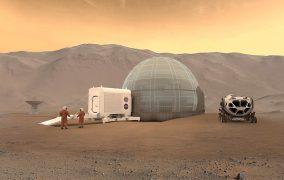 کلونی روی مریخ