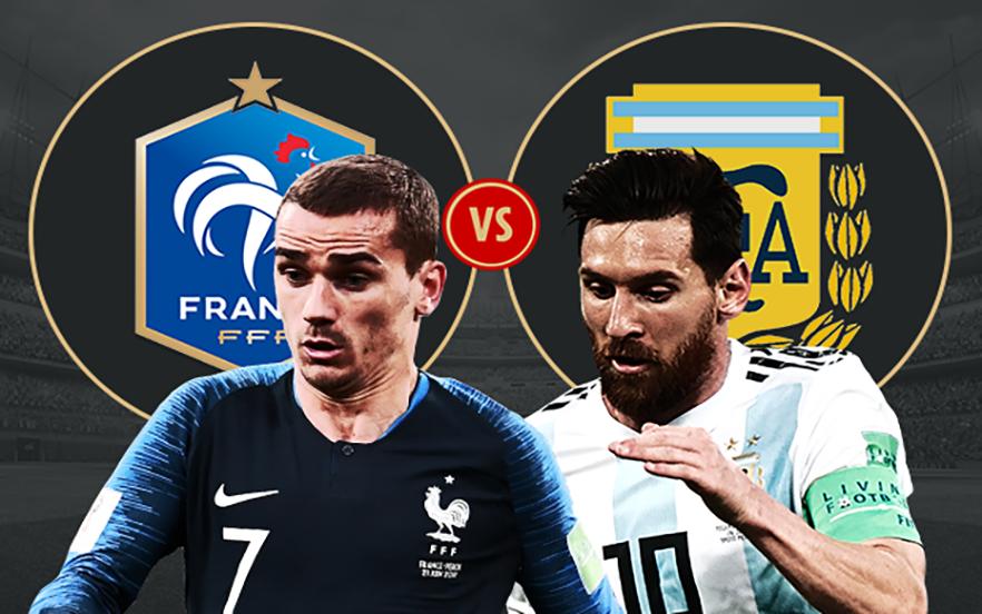 جام جخانی 2018 فرانسه و آرژانتین