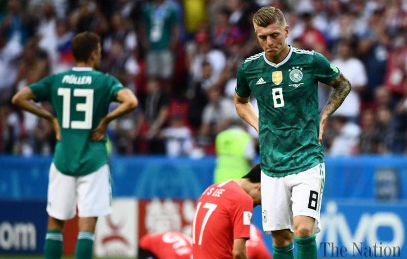 جام جهانی 2018 حذف آلمان