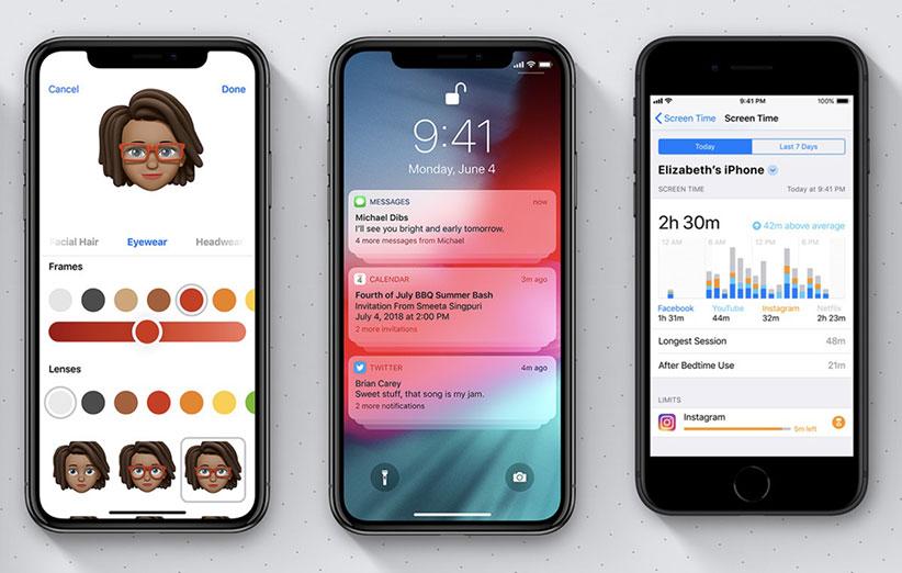 ویژگی های مخفی iOS 12