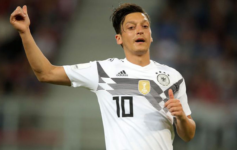 جام جهانی 2018 مسوت اوزیل