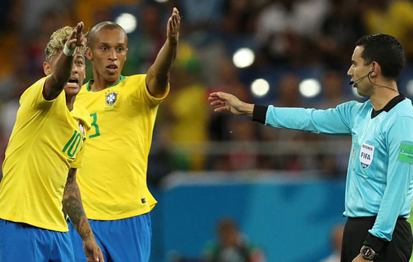 کمک داور ویدیویی جام جهانی 2018