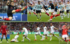 به یادماندنی ترین لحظات جام جهانی 2018
