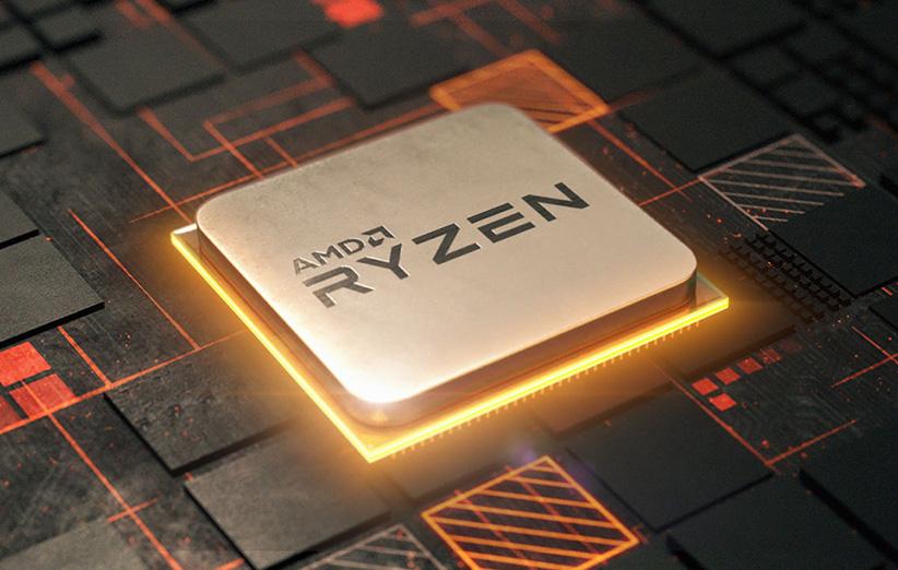 سری پردازنده رایزن AMD