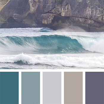 رنگ های آرامش بخش