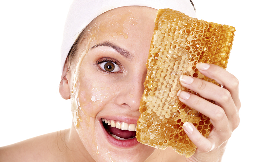ماسک صورت عسل