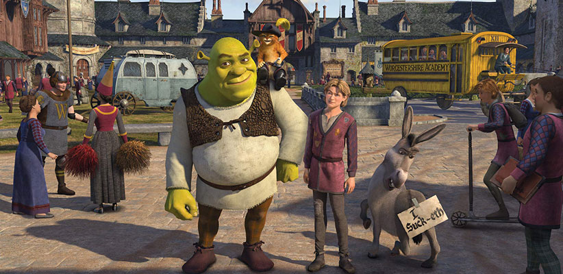 شرک 3 (Shrek the Third)