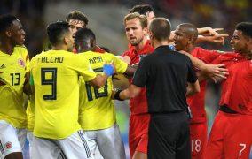 بازی انگلیس و کلمبیا جام جهانی 2018