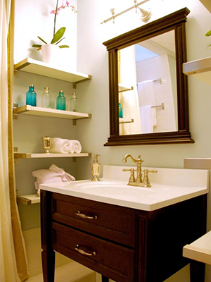 55 - ۱۰ ایده هوشمندانه برای طراحی فضاهای کوچک