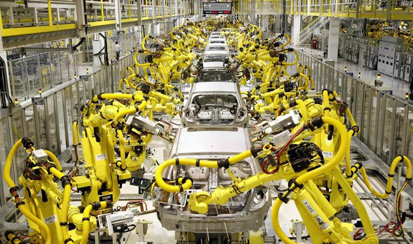 خطوط تولید رباتیک