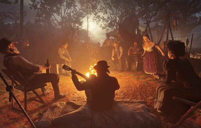 اسکرینشات بازی Red Dead Redemption 2