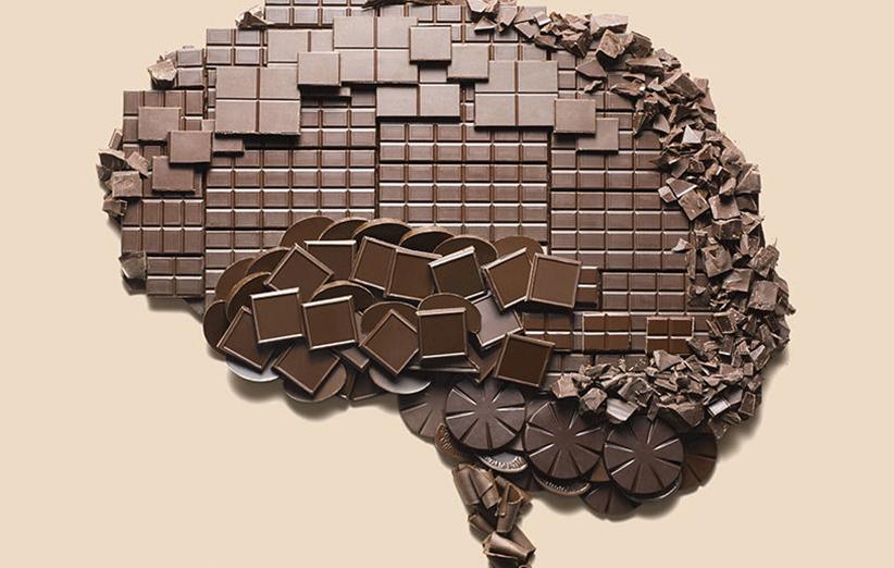 فواید شکلات برای مغز
