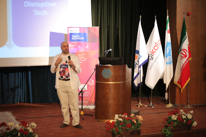 0G5A0054 - متخصصان فنی در کنفرانس تکنولوژی دیجیکالا از چالشهای پروژه سوپرنوا گفتند