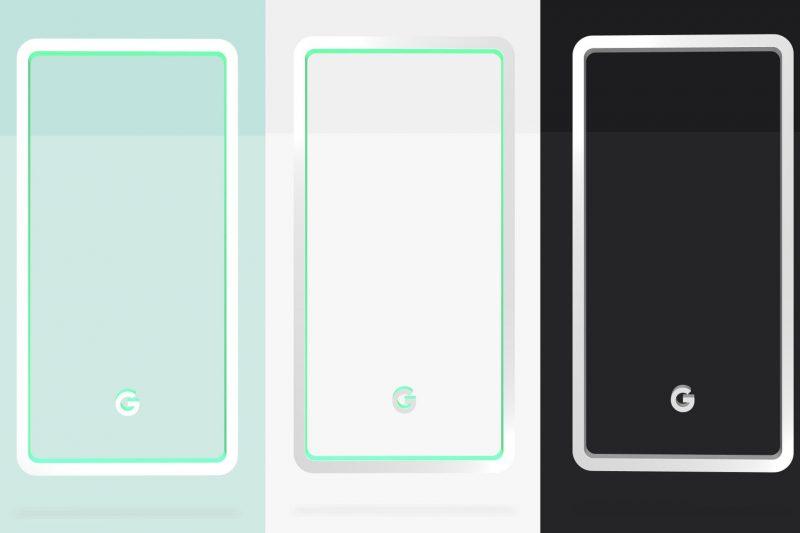 Pixel 3 Colors e1537008218694 - گوگل رنگهای پیکسل ۳ را لو داد