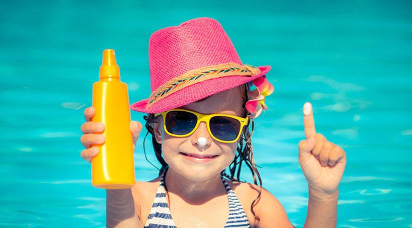 کرم ضد آفتاب ضد آب