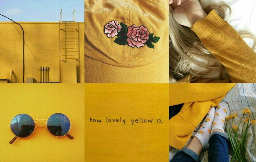 رنگ زرد