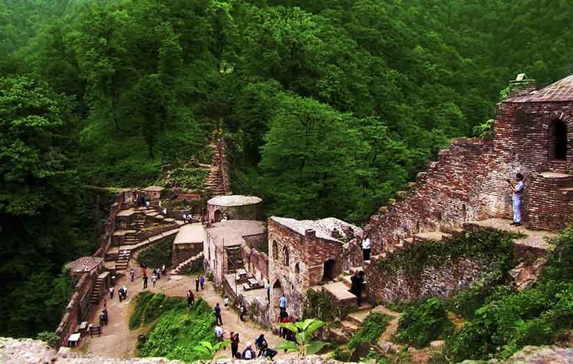 تور ماسوله قلعه رودخان