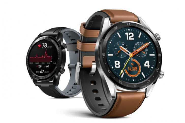Huawei Watch GT 1 - عکسهای بیشتر و مشخصات هواوی واچ GT منتشر شد.