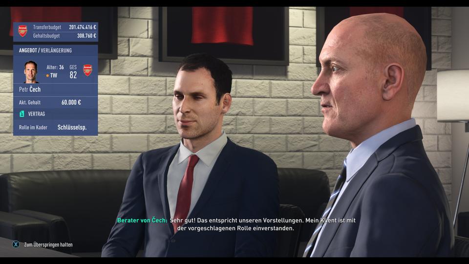 پیتر چک بازی FIFA 19