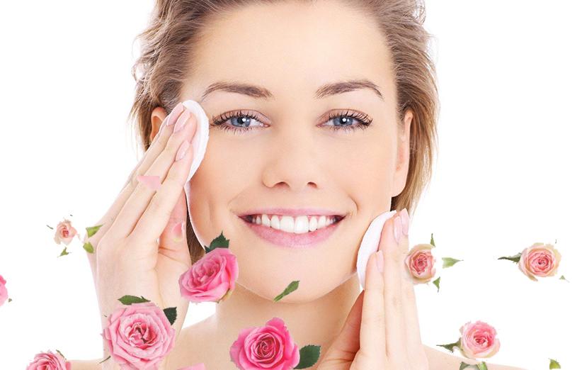 خواص گلاب برای پوست صورت - رفع لک صورت و داشتن پوست درخشان ...